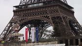 tower : Eiffel Tower Paris France  Stock Footage
