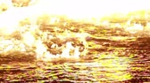 chamas : Water on Fire  Stock Footage