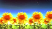 1964 Into Heaven with Sunflowers Glowing, 4K.mov