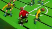 miniatura : Table football, childrens board game Stock Footage