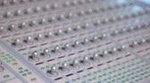 zesilovač : Mixing console also called audio mixer, sound board, mixing deck or mixer is an electronic device used for combining.