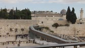 The Wailing Wall and Al Aqsa mosque in Jerusalem  影像素材