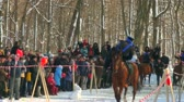 stuntmen : Cossacks on horses