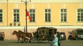 chapéus : Coach rides on the square