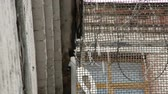 запрос : Barbed wire for fencing criminals in the prison Стоковые видеозаписи