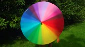 fabric : Colorful umbrella