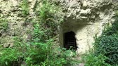 fresk : Catacombs near Aladzha. Varna. Bulgaria.