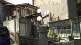 silence : Old courtyard in Varna. Bulgaria. Stock Footage