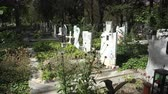 Болгария : Ancient cemetery in Varna. Bulgaria. Shot in 4K ultra-high definition UHD, so you can easily crop, rotate and zoom, without losing quality!  Real time.