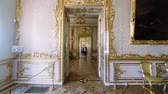 classic : Gorgeous rooms and interiors of the Catherine Palace in St. Petersburg.