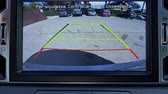 dotyk : car rear view monitor doing reverse Wideo