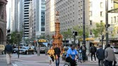 terremoto : SAN FRANCISCO - APR 18: Lottas fountain on April 18,2015 in San Francisco, USA. It is the oldest public monument built in 1875 and annual meeting place for earthquake in 1906 in the city on April 18.