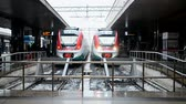 projetor : Roma Termini railway station on January 02, 2016 in Rome, Italy. It was open in 1862 and has 32 platforms for trains.
