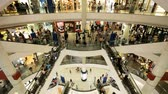 shopping : Shopping mall Timelapse Stock Footage