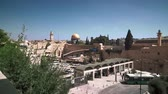 palestina : Holy places in Jerusalem, a general view Vídeos