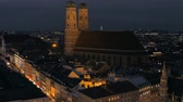 munique : Frauenkirche by night, Munich, Bavaria, Germany, Europe