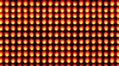 piksel : Fire And Flames Background In 8 Bit Video Game Style Stok Video