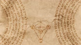 hebrejština : Kabbalah 10 Sephirot with Hebrew Holy Words