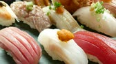 sashimi : Fresh Sushi - japanese food style