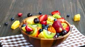 salada : Assorted and mixed fruits