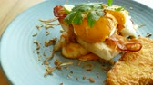toasted : Eggs Benedict with Bacon
