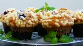 pastelitos : Muffins con Blueberry