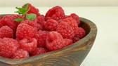 framboesa : Close up Fresh Raspberry