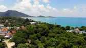Самуи : Aerial view of Koh Samui in Thailand