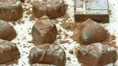 trufas : Closeup of dessert chocolates
