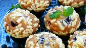 lanches : Muffins with Blueberry Vídeos