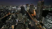 centro da cidade : Time lapse view at Tokyo city in japan