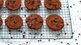 guardanapo : Close-up Chocolate cookies