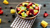 kavun : Assorted and mixed fruits