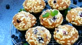 muffinki : Muffins with Blueberry Wideo