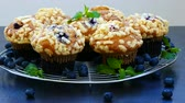 magdalenas : Muffins con Blueberry