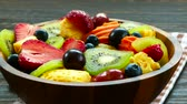 banan : Assorted and mixed fruits