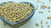大豆 : 4K Close up soybean