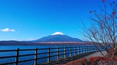 県 : Colorful Autumn with Mountain Fuji in Japan Lake Yamanakako