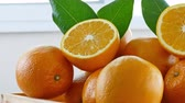 cytrusy : Close up Fresh orange fruit