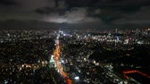 Time lapse view at Tokyo city in japan