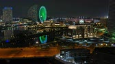 Timelapse view of Yokohama Japan Wideo