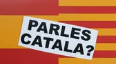 independency : Question to people, Parles Catala, illustration.