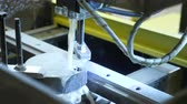 heavy metals : Electroerosive cutting, New technologies in metalworking, Cut sheet metal. Modern tool in heavy industry.