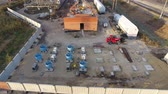 szermierka : Construction of a transformer substation near the railway Wideo