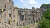 toscano : panorama of a medieval town