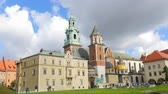 wisła : Wawel Castle is the main attraction of Krakow, Poland