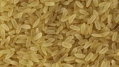 refined : Rice grains Stock Footage
