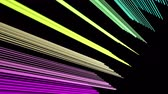 best : Fantastic video animation with stripe object in motion, 4096x2304 loop 4K Stock Footage