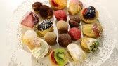 cooky : italian pastries Stock Footage