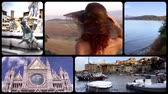 battlements : Wonderful tuscany montage. Cityscapes and landscapes.